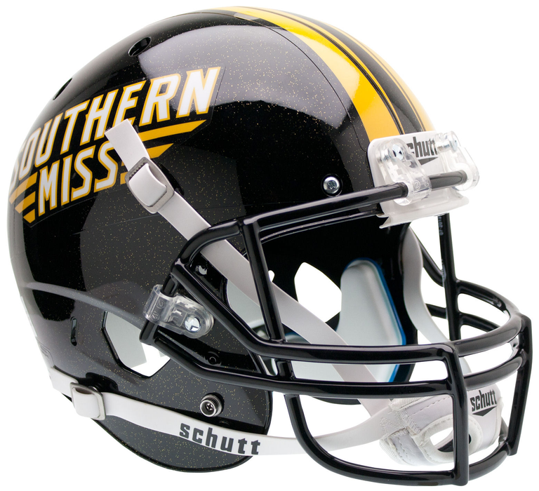 Southern Mississippi Golden Eagles Replica Schutt XP Full Size Helmet