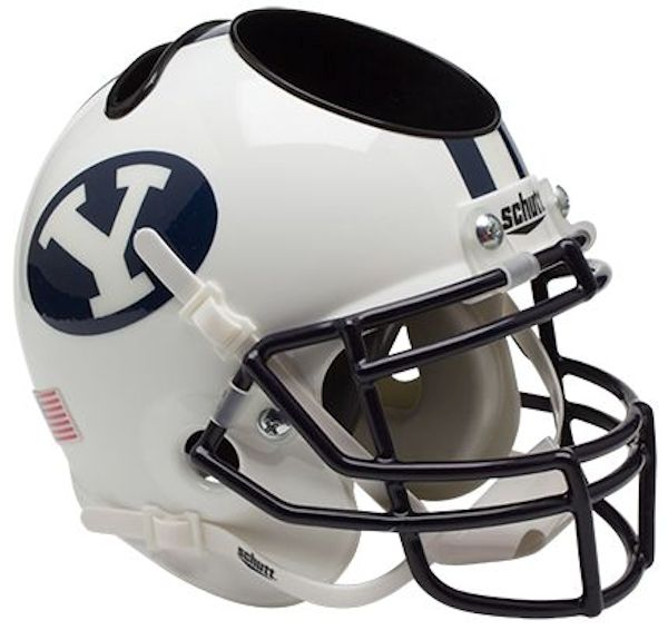 BYU Cougars Mini Helmet Desk Caddy