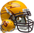 Arizona State Sun Devils Authentic Schutt XP Full Size Helmet - Matte Gold - 85