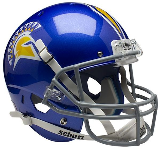 San Jose State Spartans Replica Schutt XP Full Size Helmet