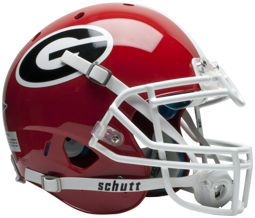 Georgia Bulldogs Authentic Schutt XP Full Size Helmet