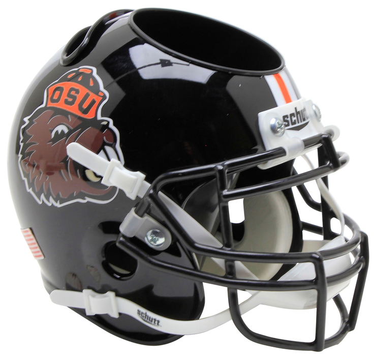 Oregon State Beavers Mini Helmet Desk Caddy - Benny Beaver