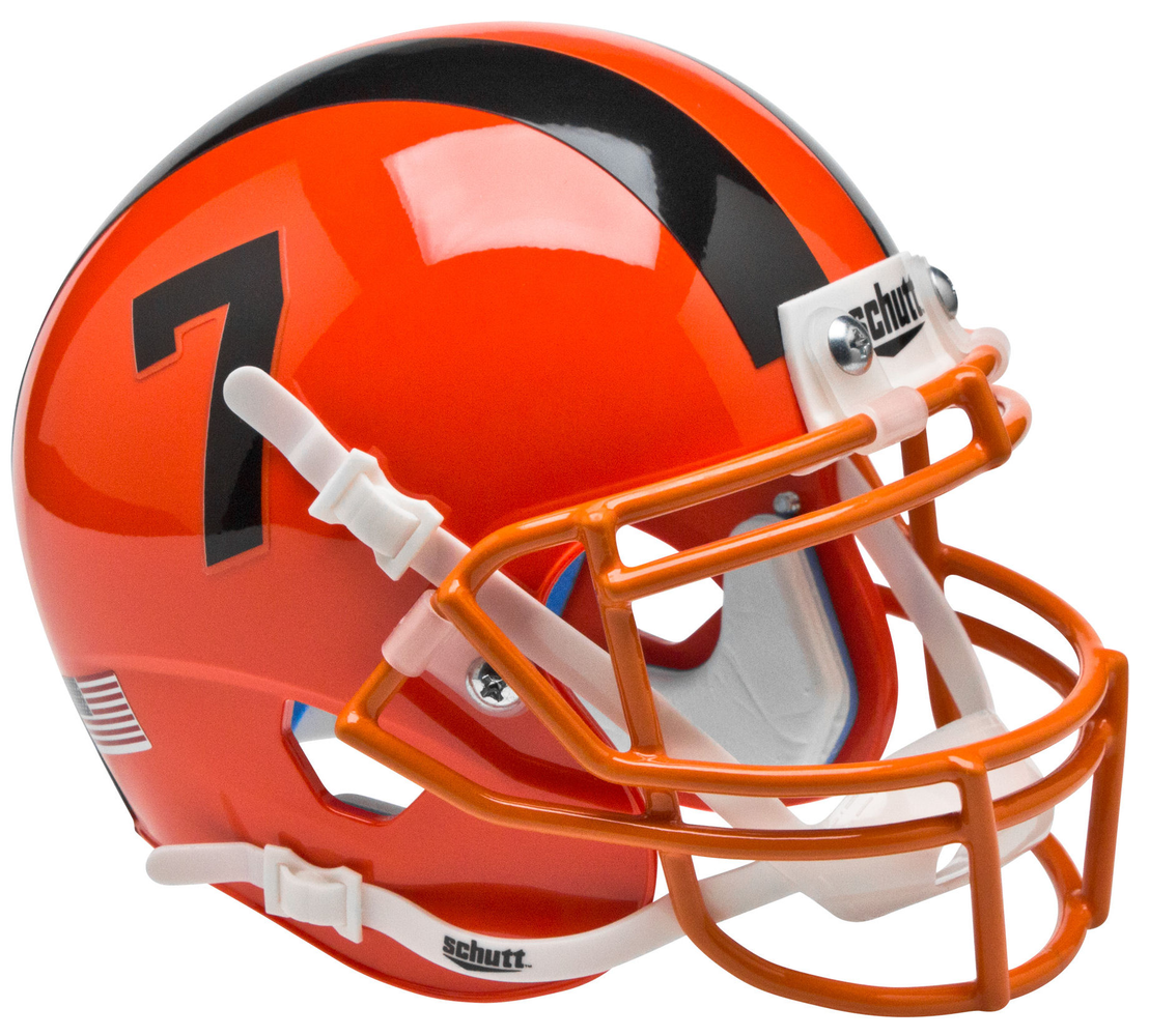 Oregon State Beavers Schutt XP Mini Helmet - Orange