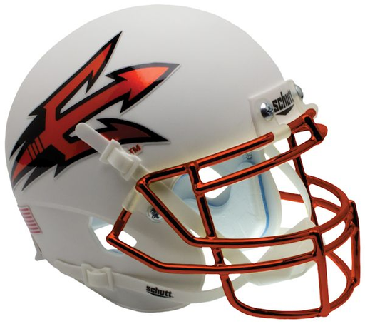 Arizona State Sun Devils Schutt XP Mini Helmet - Chrome Mask