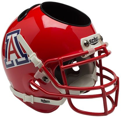 Arizona Wildcats Mini Helmet Desk Caddy - Scarlet