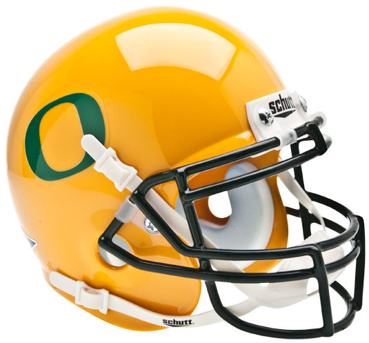 Oregon Ducks Schutt XP Mini Helmet - Gold