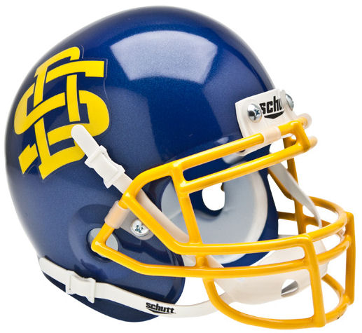 South Dakota State Jackrabbits Schutt XP Mini Helmet