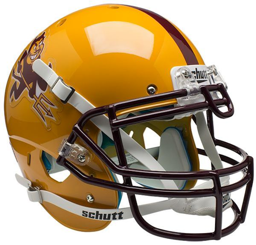 Arizona State Sun Devils Authentic Schutt XP Full Size Helmet - Sparky