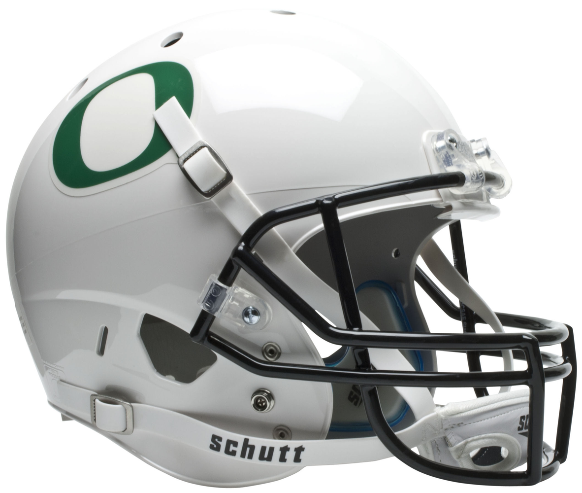 Oregon Ducks Replica Schutt XP Full Size Helmet - White