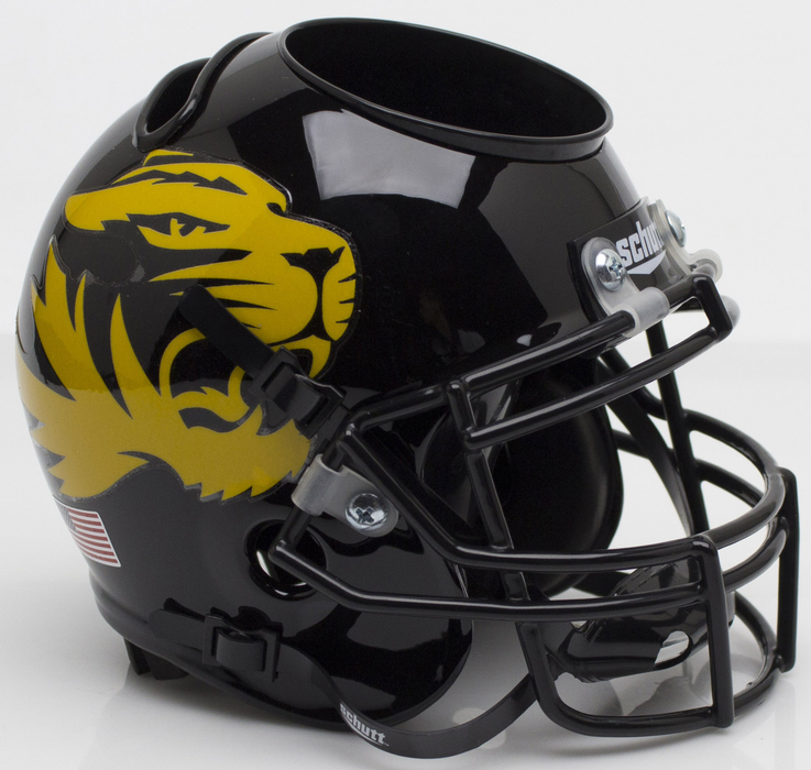 Missouri Tigers Mini Helmet Desk Caddy - Alt 4