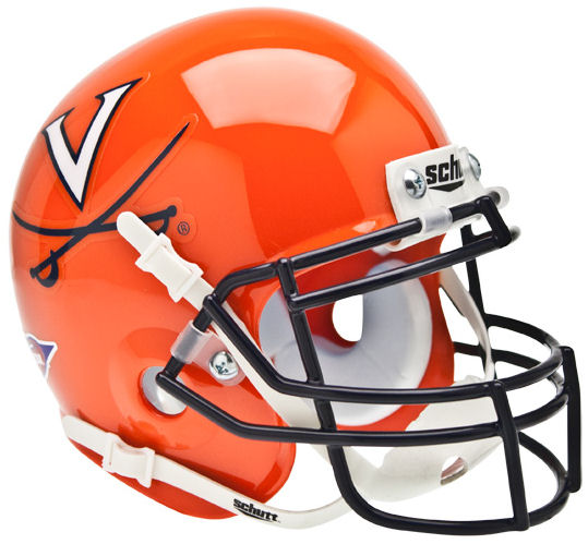 Virginia Cavaliers Schutt XP Mini Helmet - Orange
