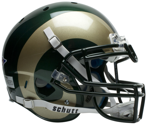 Colorado State Rams Authentic Schutt XP Full Size Helmet