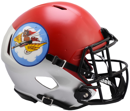 Air Force Falcons Riddell Mini Speed Helmet - Tuskegee 301st Limited Edition