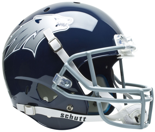Nevada Wolfpack Authentic Schutt XP Full Size Helmet