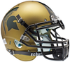 Michigan State Spartans Authentic Schutt XP Full Size Helmet - Matte Gold