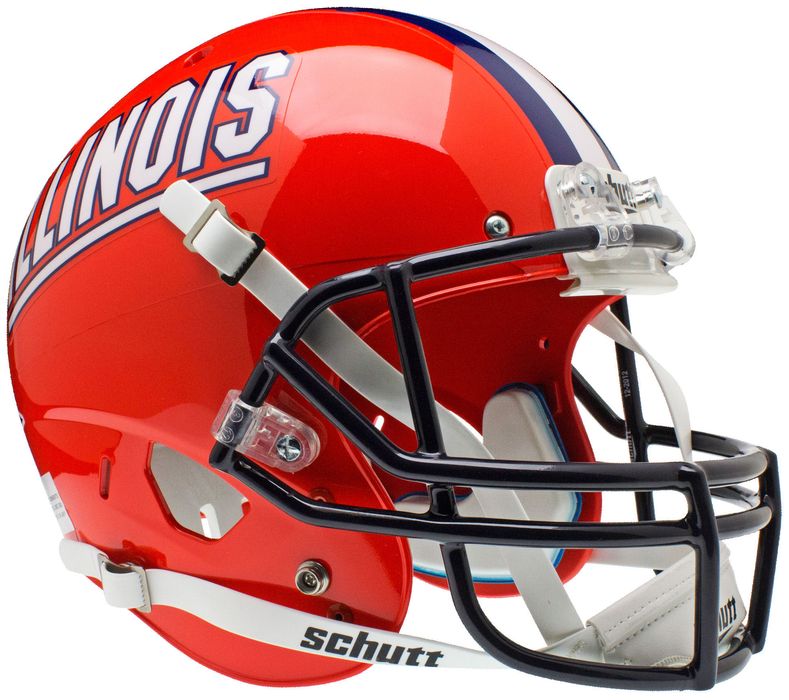 Illinois Fighting Illini Replica Schutt XP Full Size Helmet