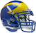Delaware Blue Hens Authentic Schutt XP Full Size Helmet