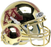 Minnesota Golden Gophers Authentic Schutt XP Full Size Helmet - Gold Chrome