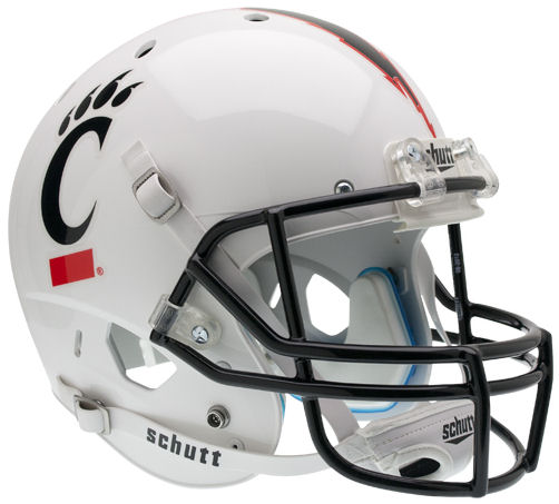 Cincinnati Bearcats Replica Schutt XP Full Size Helmet - White