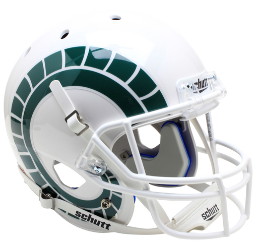 Colorado State Rams Replica Schutt XP Full Size Helmet - White with Horns