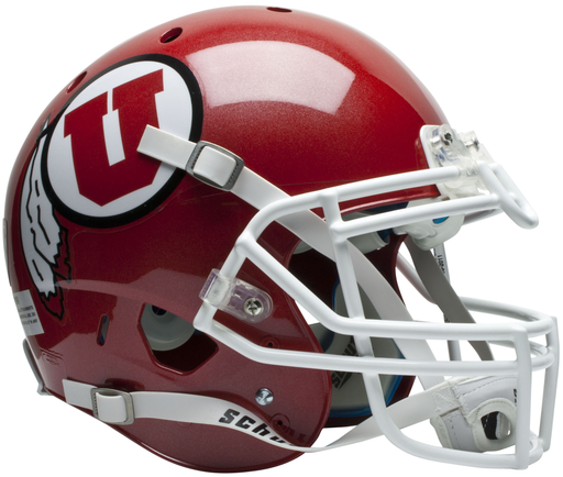 Utah Utes Authentic Schutt XP Full Size Helmet
