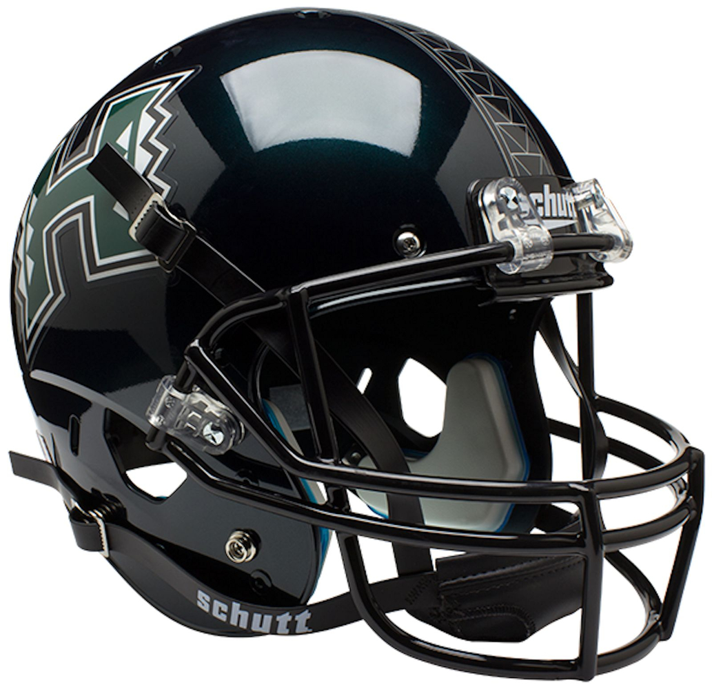 Hawaii Warriors Replica Schutt XP Full Size Helmet