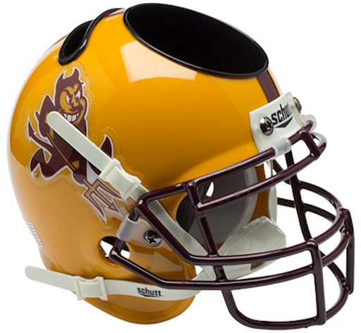 Arizona State Sun Devils Mini Helmet Desk Caddy - Sparky