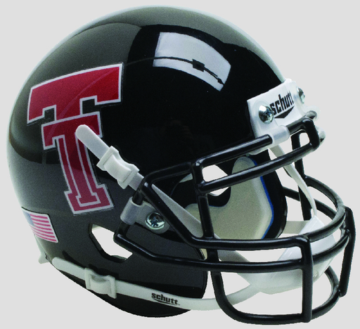 Texas Tech Red Raiders Authentic Schutt XP Full Size Helmet - Black