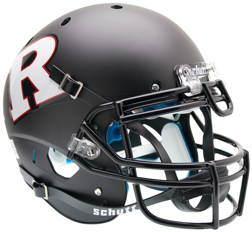 Rutgers Scarlet Knights Authentic Schutt XP Full Size Helmet - Matte Black