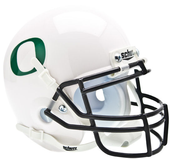 Oregon Ducks Schutt XP Mini Helmet - White