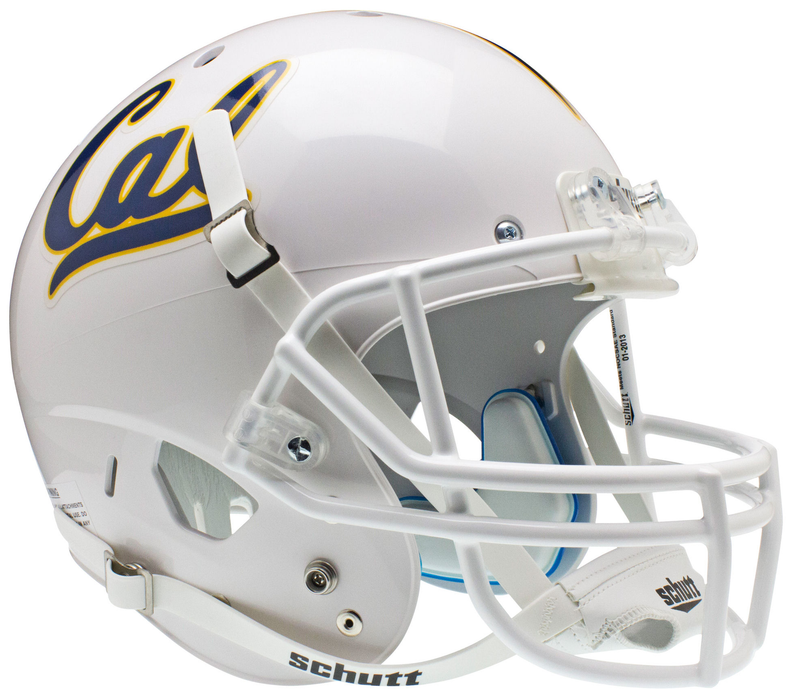 California Golden Bears Replica Schutt XP Full Size Helmet - White