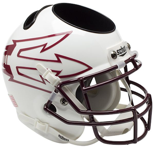 Arizona State Sun Devils Mini Helmet Desk Caddy - White 85