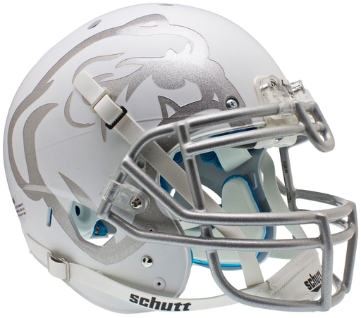 Mississippi State Bulldogs Authentic Matte White Schutt XP Full Size Helmet - Laser Etched
