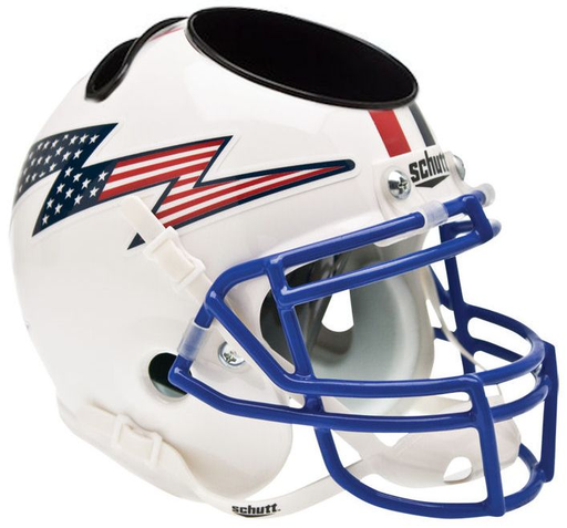 Air Force Falcons Mini Helmet Desk Caddy - Flag w/ Stripe