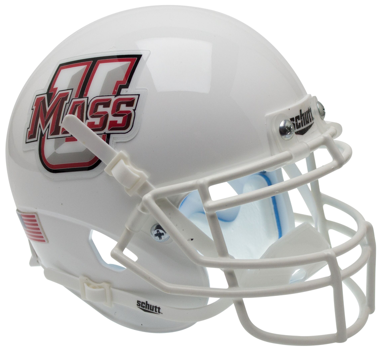 UMass Minutemen Schutt XP Mini Helmet