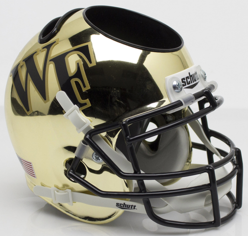 Wake Forest Demon Deacons Mini Helmet Desk Caddy - Chrome