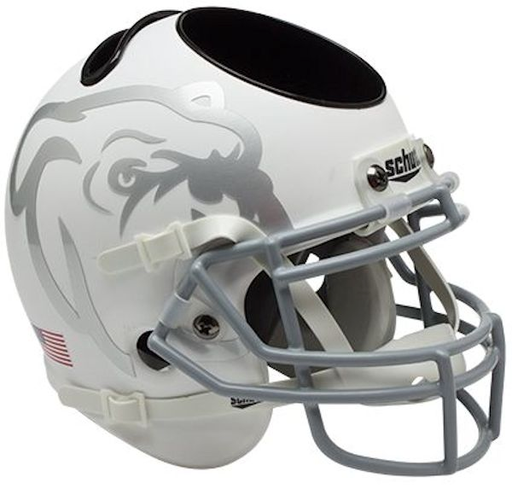 Mississippi State Bulldogs Mini Helmet Desk Caddy - Matte White