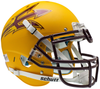 Arizona State Sun Devils Authentic Schutt XP Full Size Helmet - Matte Gold