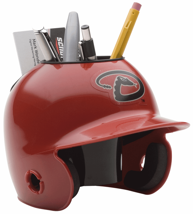 Arizona Diamondbacks Mini Batters Helmet Desk Caddy
