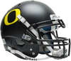Oregon Ducks Authentic Schutt XP Full Size Helmet - Matte Black