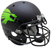 North Texas Mean Green Authentic Schutt XP Full Size Helmet - Matte Black