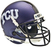 TCU Horned Frogs Schutt XP Mini Helmet - Purple Crosshatch