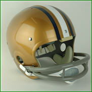 Pittsburgh Panthers 1970 to 1972 Full Size Throwback Helmet