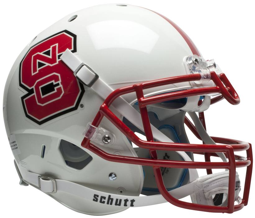 NC State Wolfpack Authentic Schutt XP Full Size Helmet