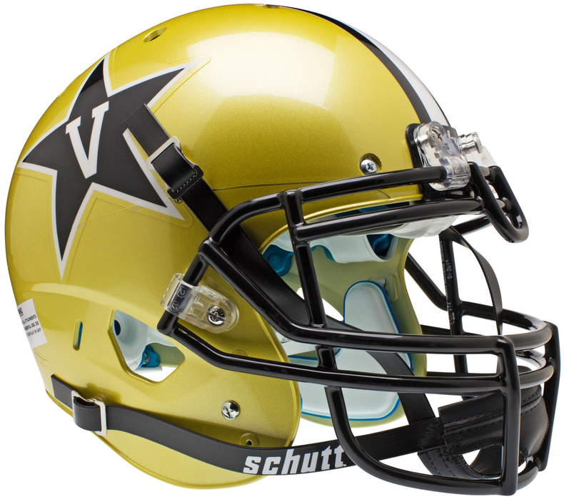 Vanderbilt Commodores Authentic Schutt XP Full Size Helmet