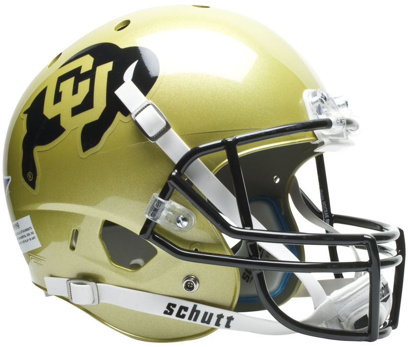 Colorado Buffaloes Replica Schutt XP Full Size Helmet