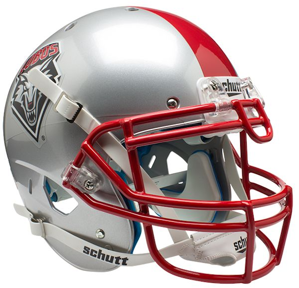 New Mexico Lobos Authentic Schutt XP Full Size Helmet