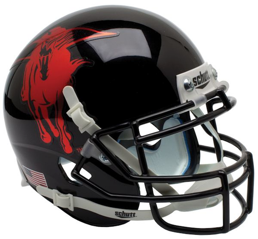 Texas Tech Red Raiders Authentic Schutt XP Full Size Helmet - 2013 Holiday Bowl