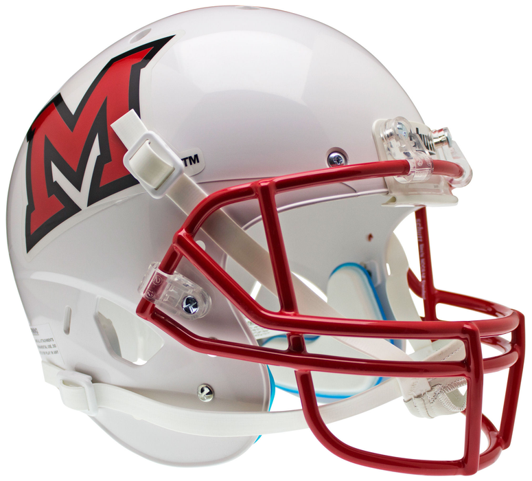 Miami of Ohio Redhawks Replica Schutt XP Full Size Helmet