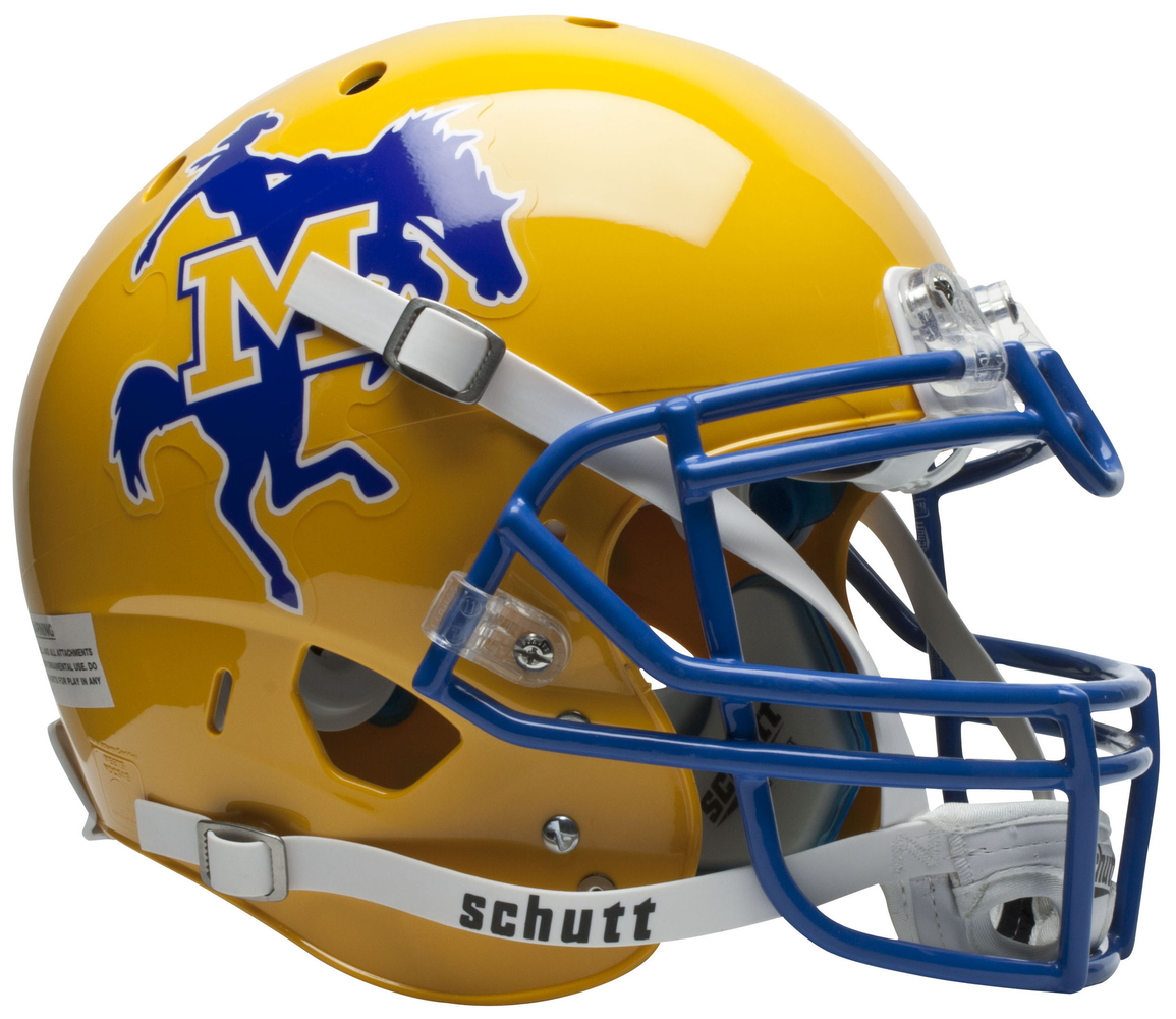 McNeese State Cowboys Authentic Schutt XP Full Size Helmet
